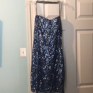 Sequence homecoming dress